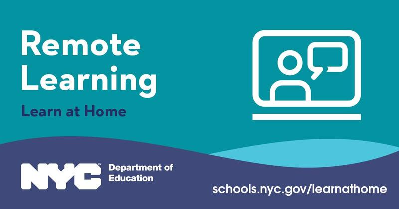 remote learning-NYC DOE