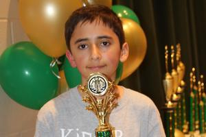 3rd-5th chess Champ Rogenmoser