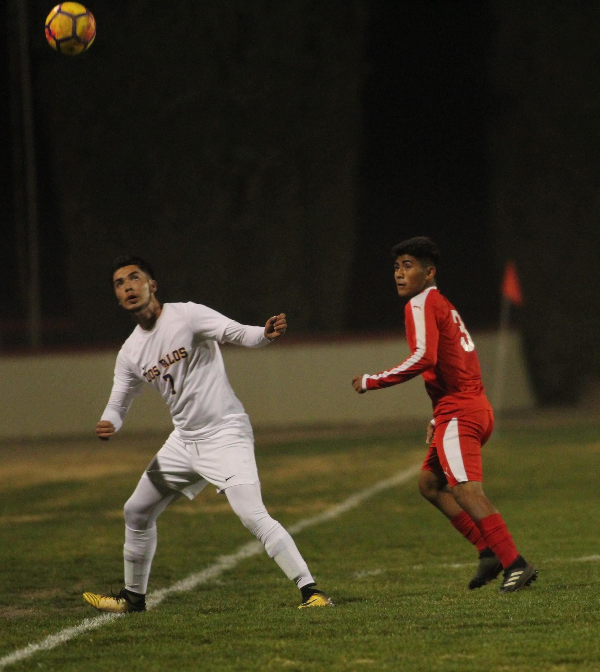 Alejandro Montes Looking up at the Ball