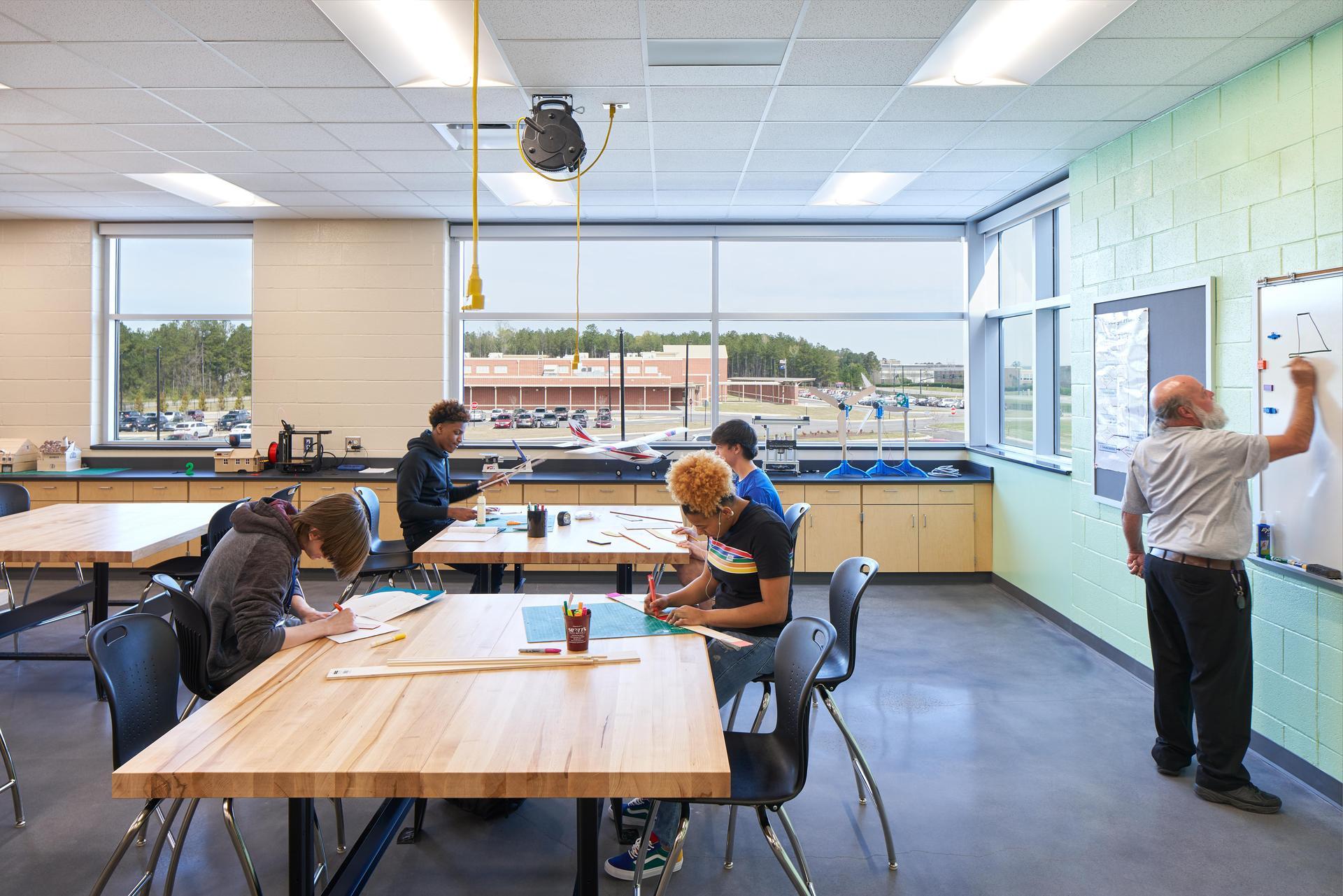 Lexington 2 Innovation Center Classroom