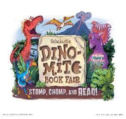 Dino-Mite Book Fair - Scholastic 2019 Logo