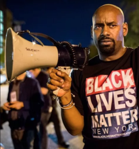 Photo of Hawk Newsome, President of Black Lives Matter of Greater New York