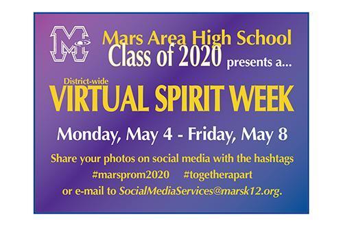 District to Hold Virtual Spirit Week