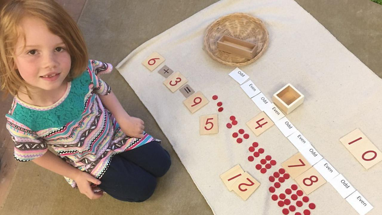 Montessori Curriculum Math