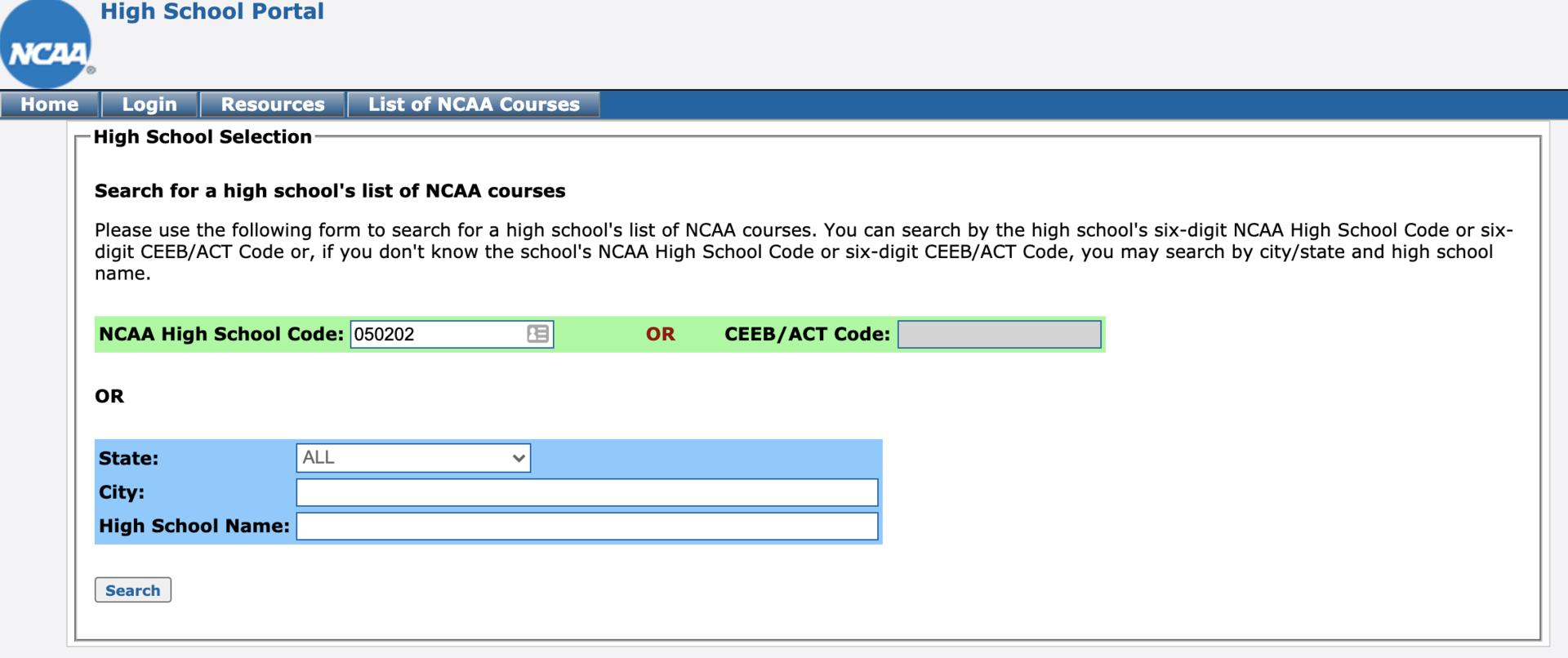 High School Portal