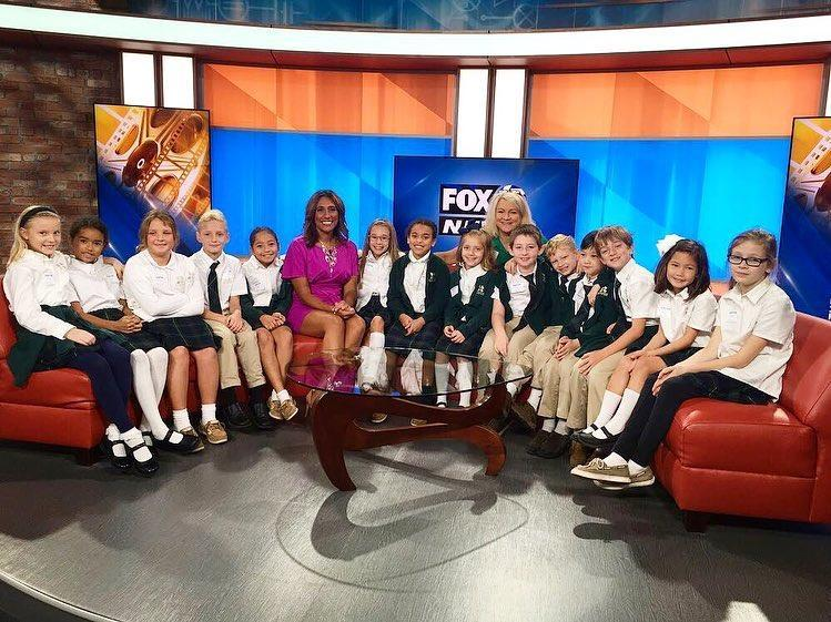 3rd Grade Field trip to Fox 45 News