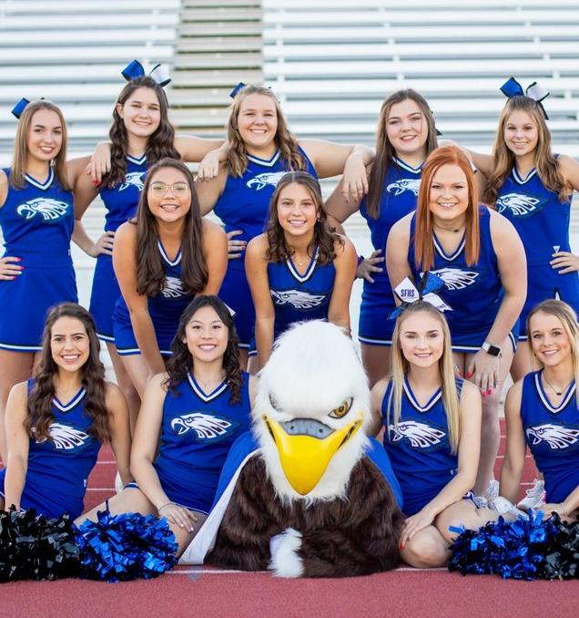 SFHS Varsity Cheerleaders