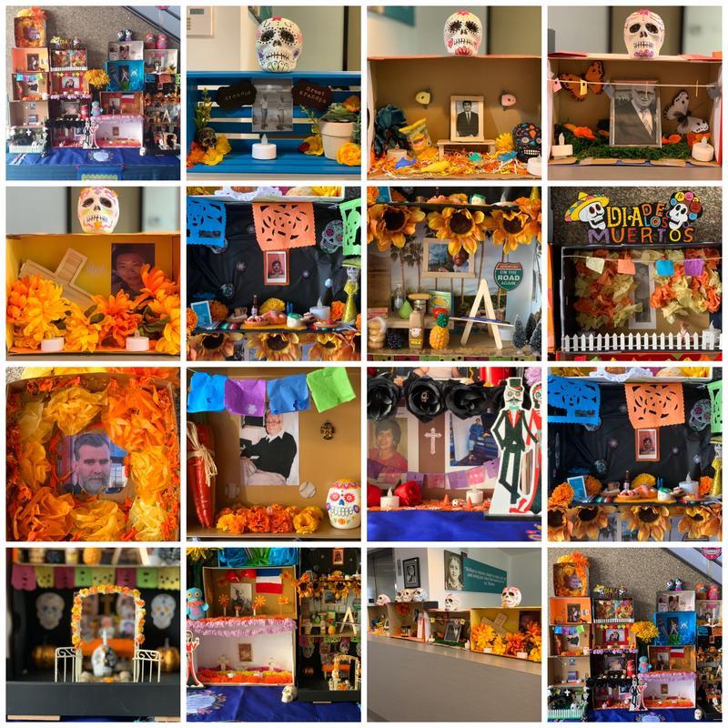 Día de los Muertos Shoebox Altars Featured Photo