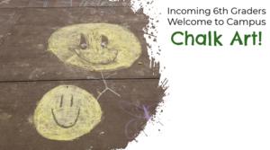 Middle School Chalk Art Image