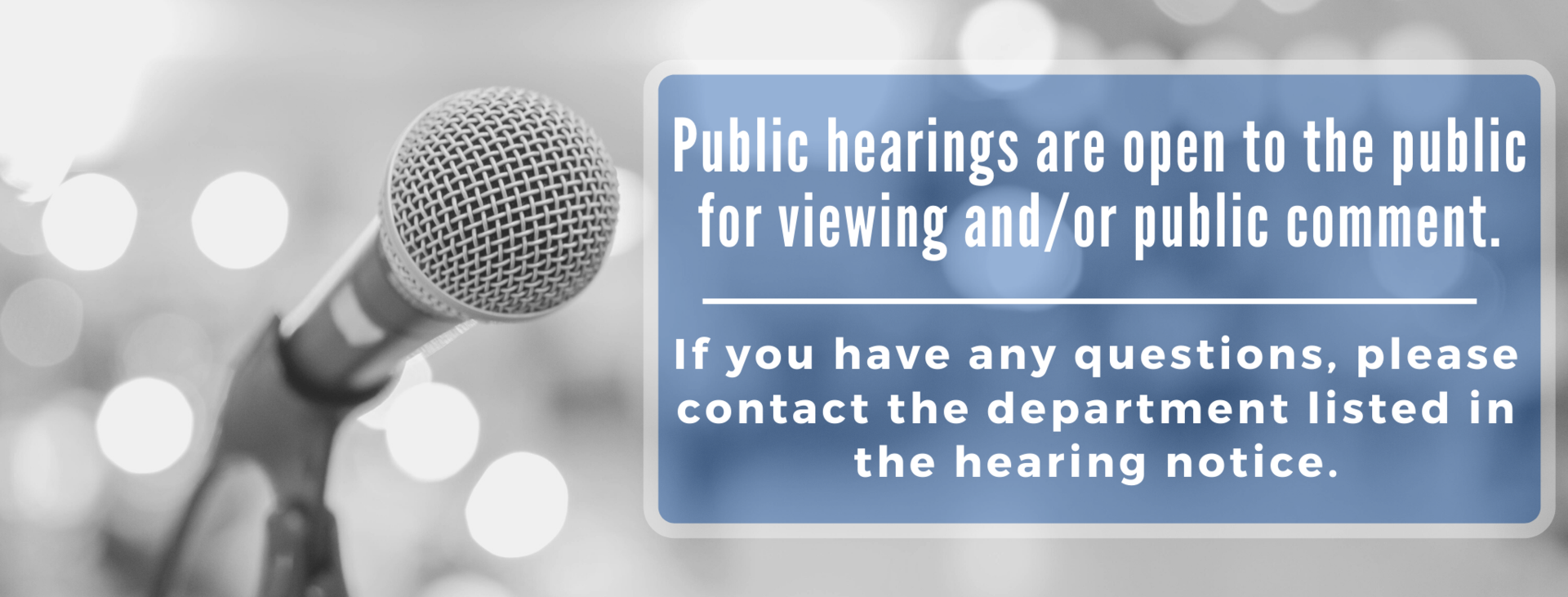 Public Hearing Notice Image