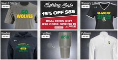 BSN Sports Spring Promotion $15 off $85 using code SPRING19