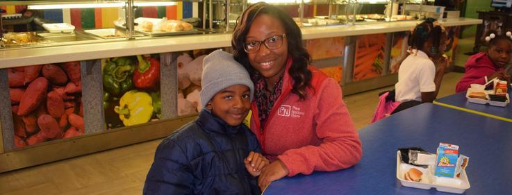 Otken Elementary Thanksgiving with parents.