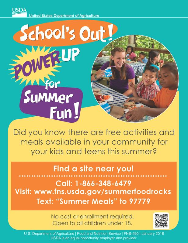 Summer Meals for Kids & Teens Thumbnail Image