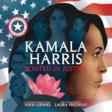 facial profile of Kamala Harris