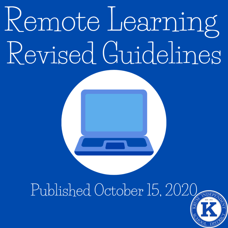 Revisions to Remote Learning Guidelines Featured Photo