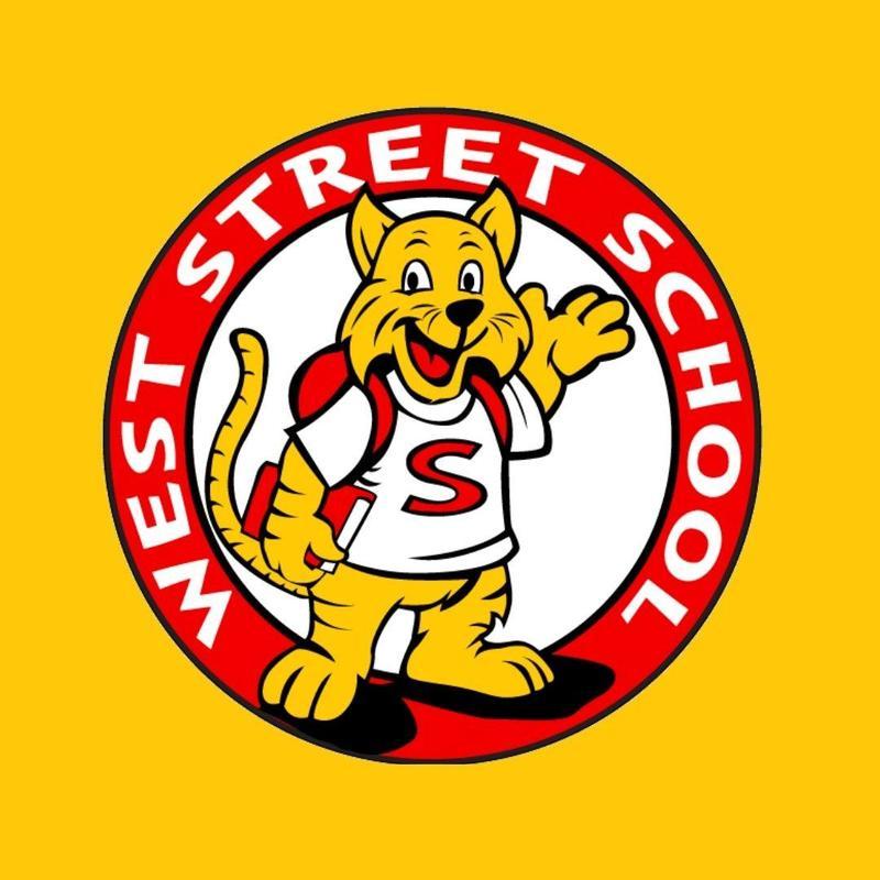The logo for West Street Elementary School