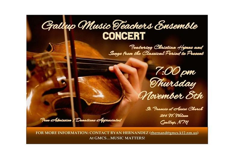 GMCS Teacher Concert