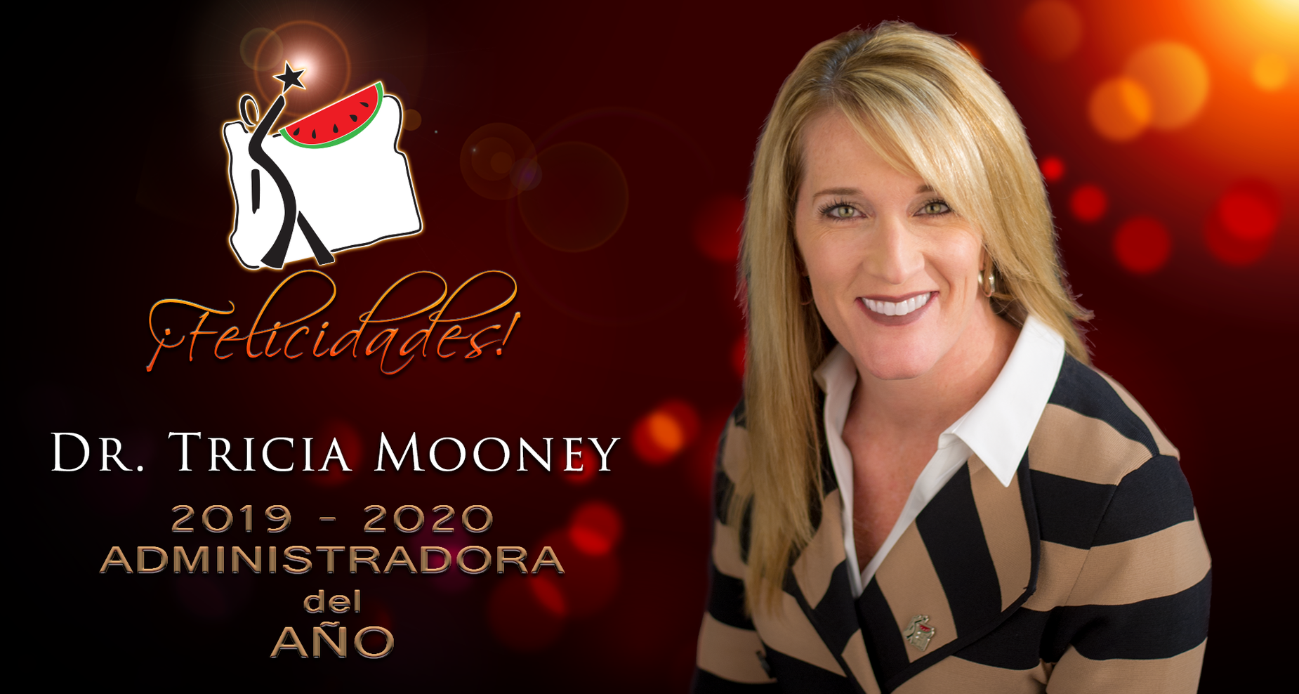 Tricia Mooney Administrator of the Year