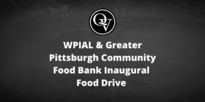 WPIAL and Greater Pittsburgh Community Food Bank Food Drive