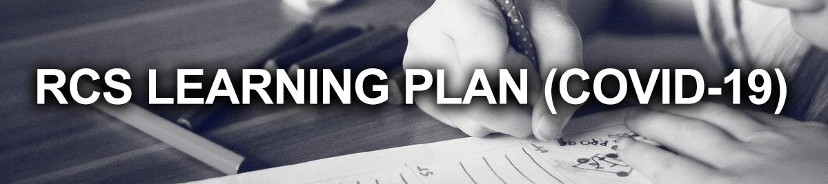 RCS LEARNING PLAN BANNER
