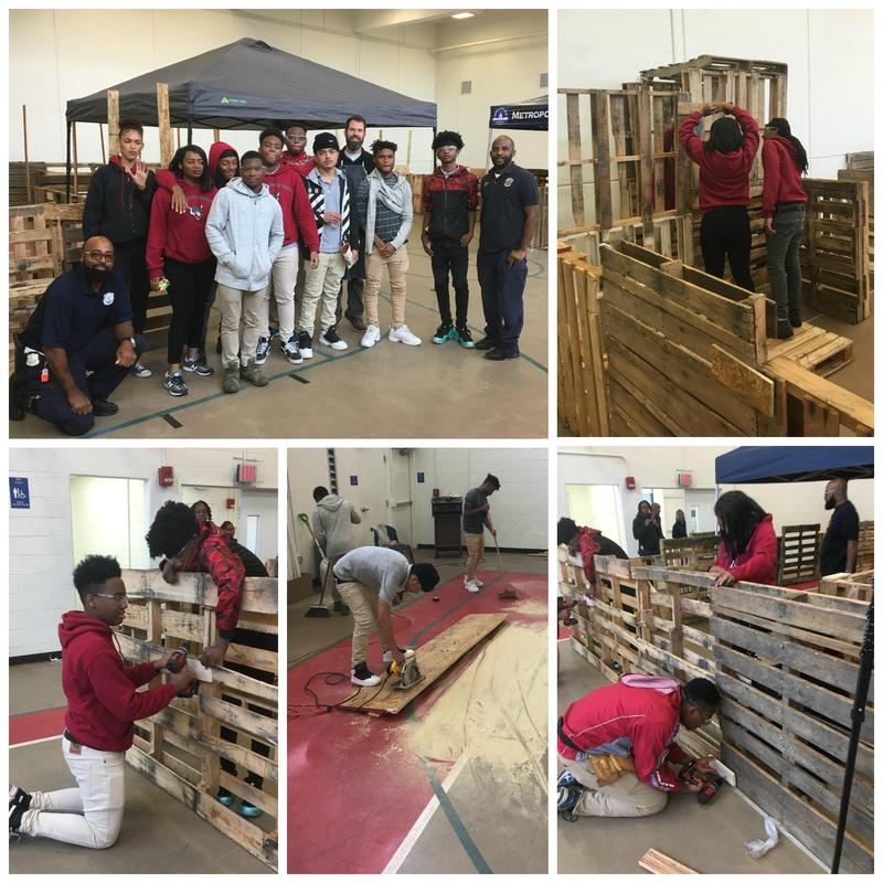 ACAD Scholars Help MPD Build Haunted Maze Thumbnail Image