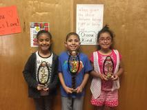 2nd grade Read-a-Thon winners.