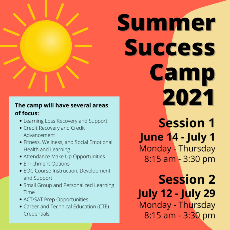 Summer Success Camp 2021