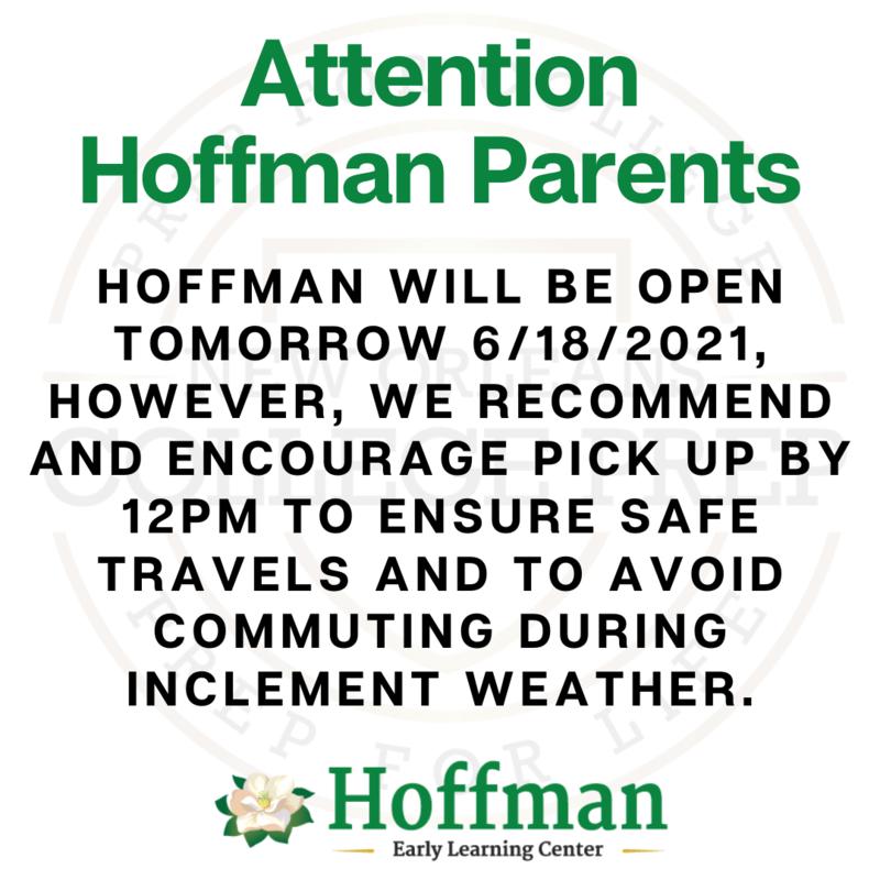Storm Update: Hoffmanwillbe open tomorrow 6/18/2021 Featured Photo
