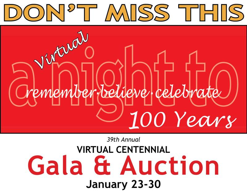 Centennial Virtual Gala & Auction 1/23-30 Featured Photo