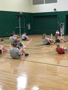 Yedinak PE classes at CCMS