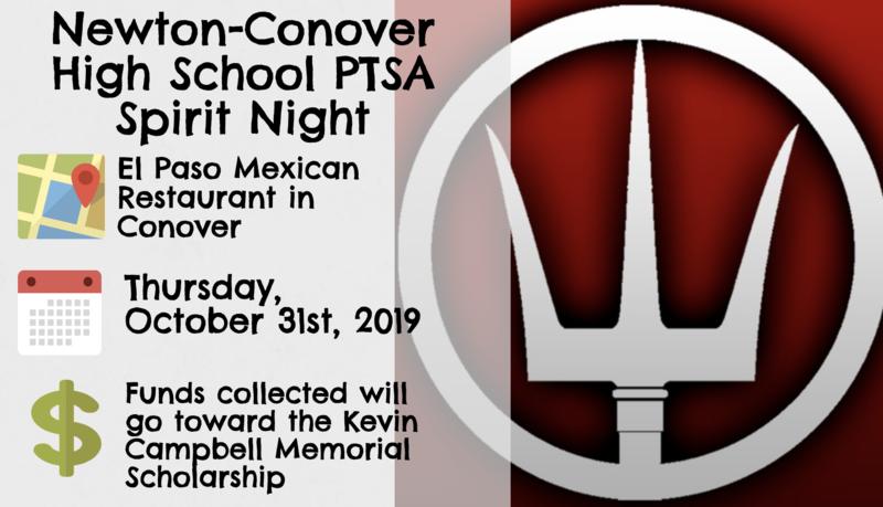 Spirit Night at El Paso restaurant October 31.