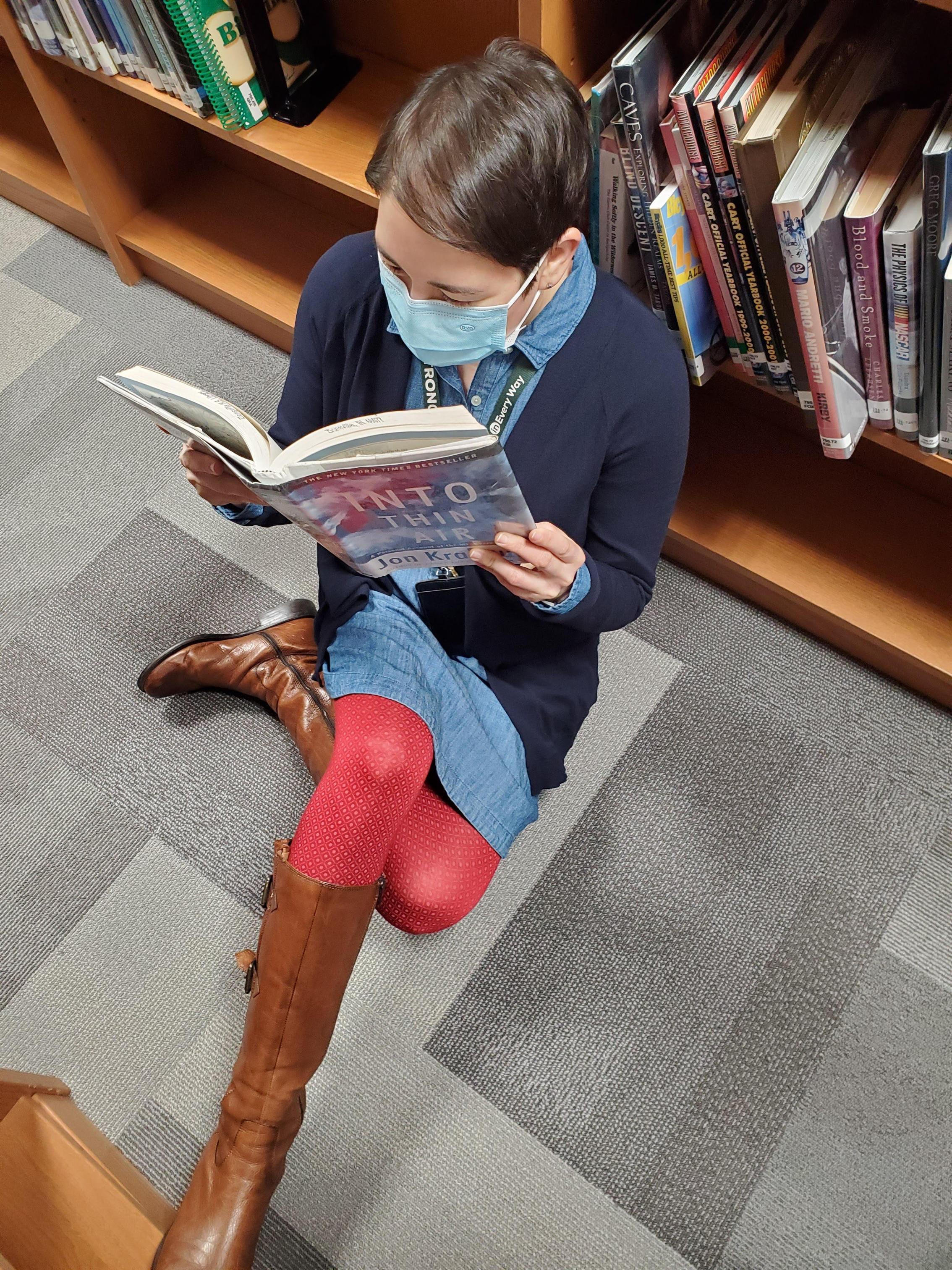 Library Shelfie Day!
