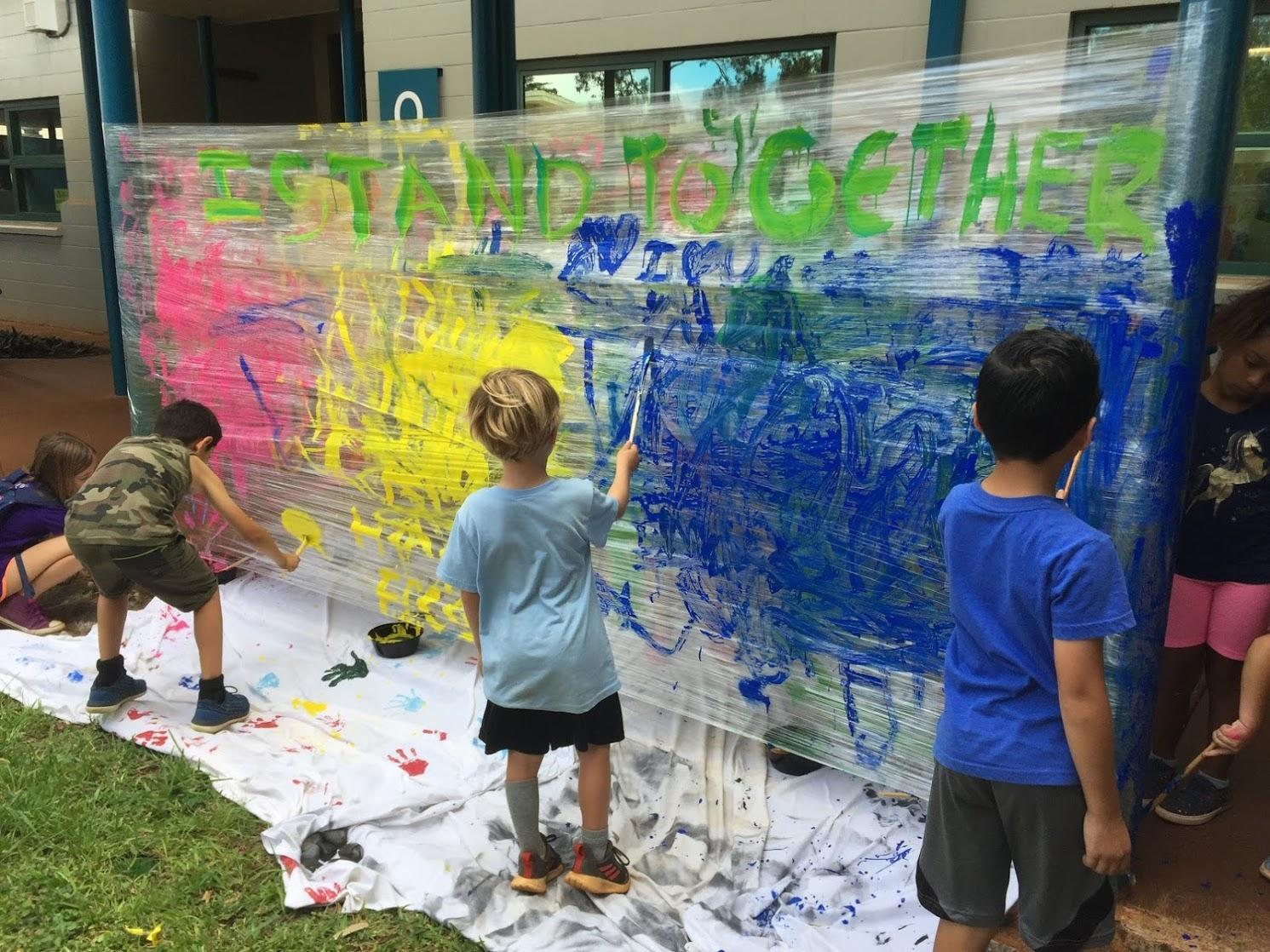 Dot Day Giant Painting