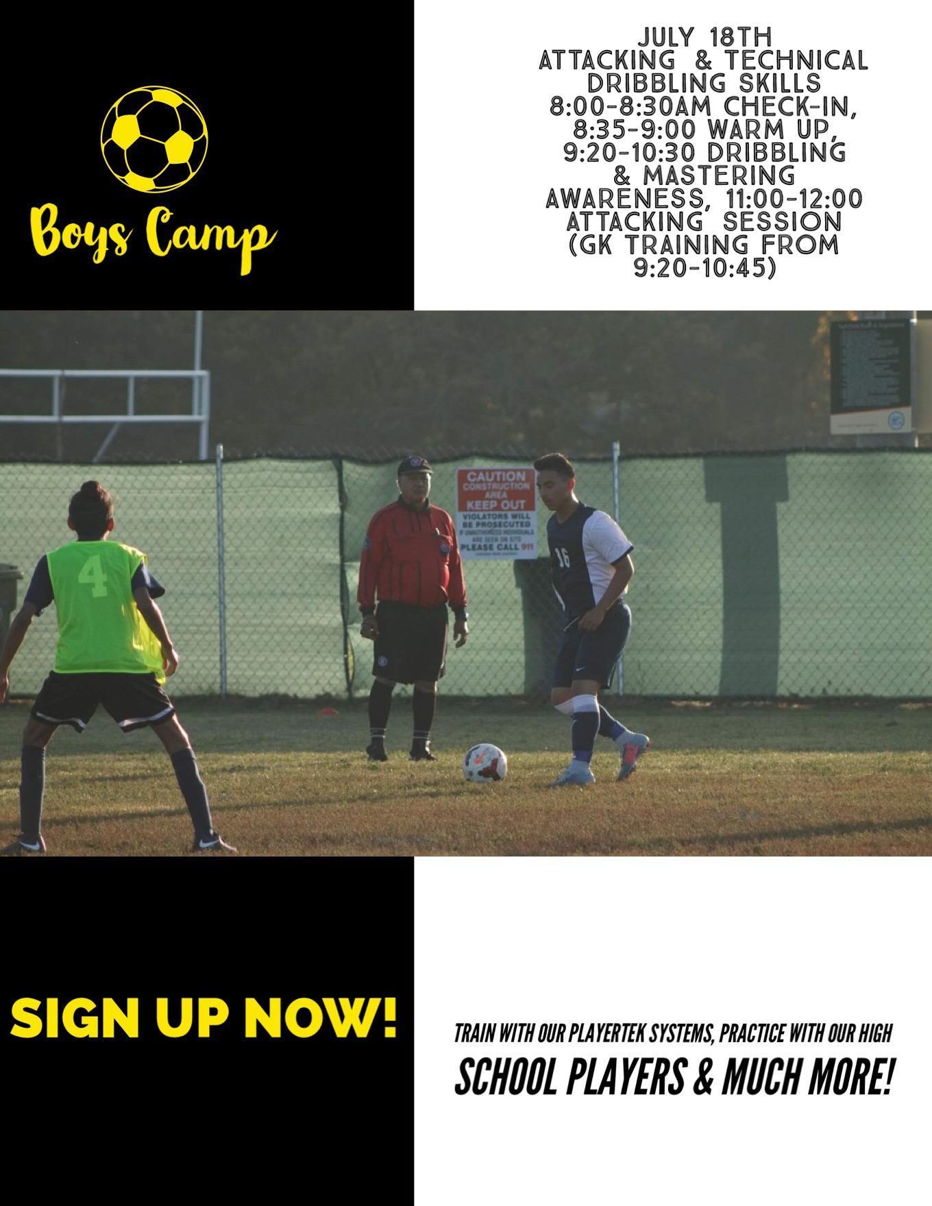Boy's Soccer Summer Camp pg4