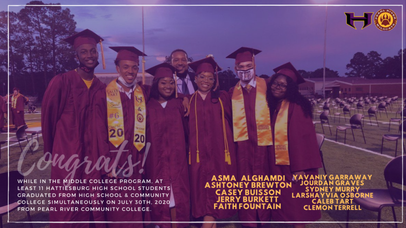 Middle College Students Graduate from PRCC Featured Photo