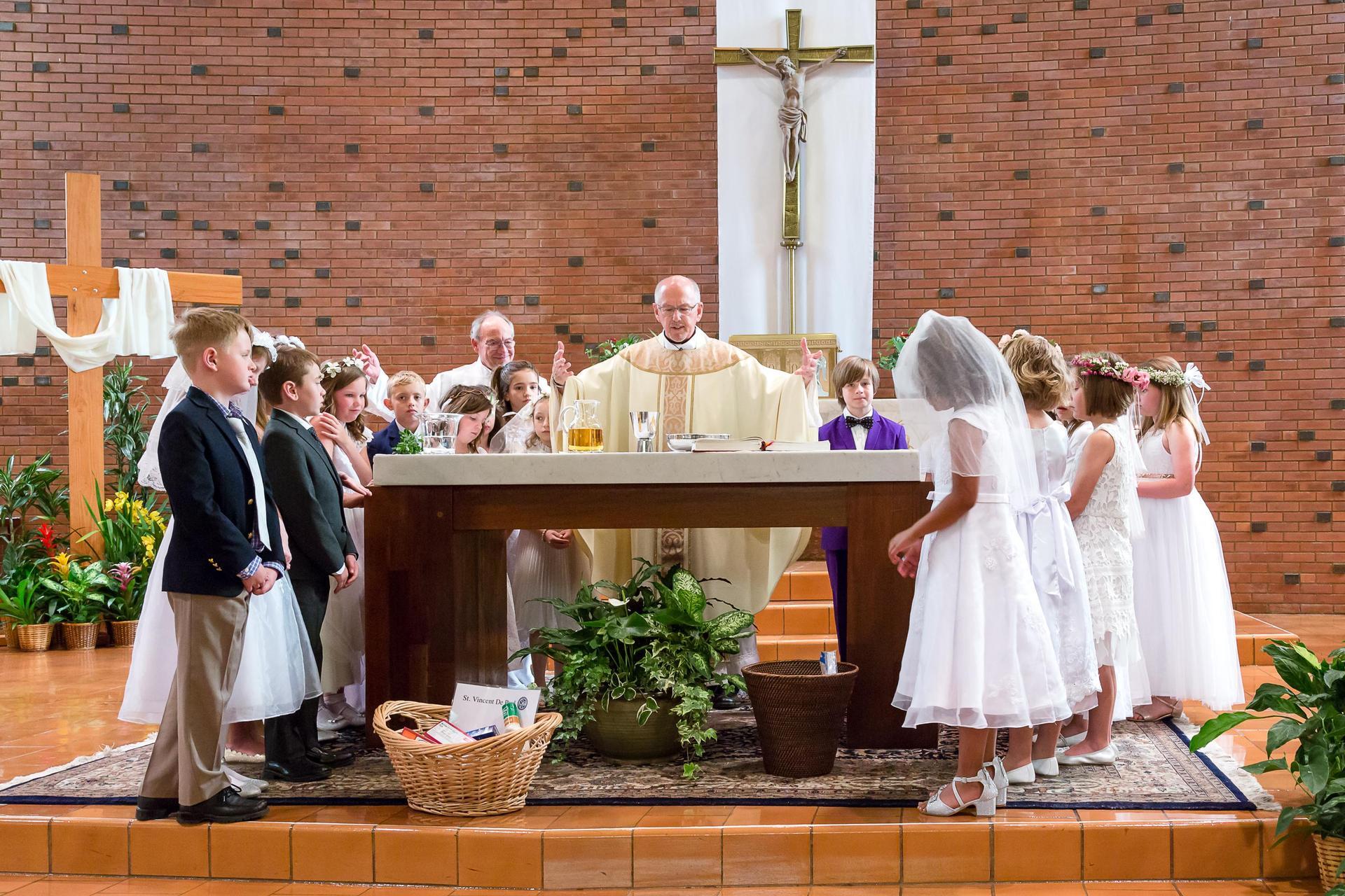 Fr. Tim during Lent