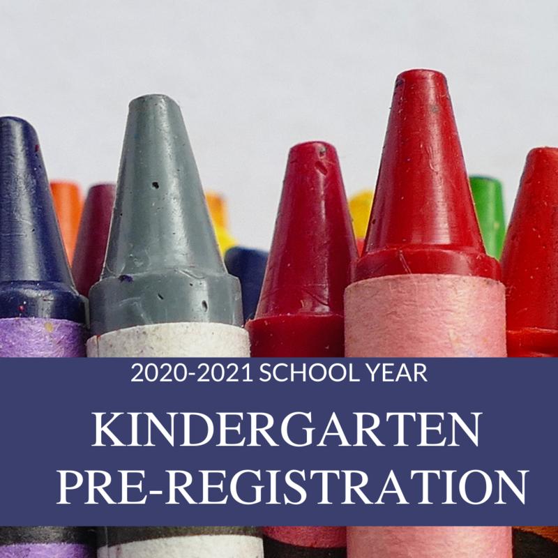 Pre-Register Your Child for Kindergarten! Featured Photo