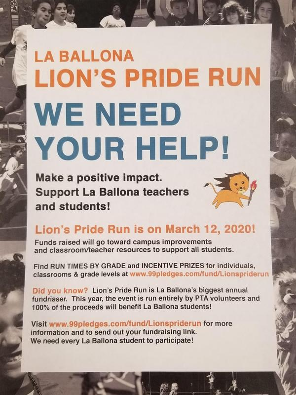 Jog-a-Thon has a NEW name:  Lion's Price Run Featured Photo