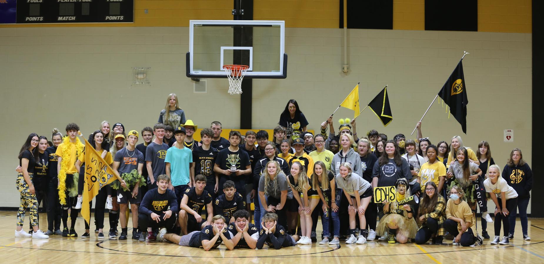 Seniors win homecoming!