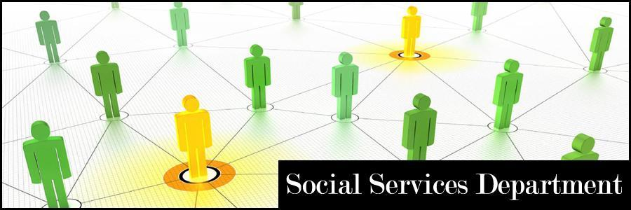 Social Services Department Banner