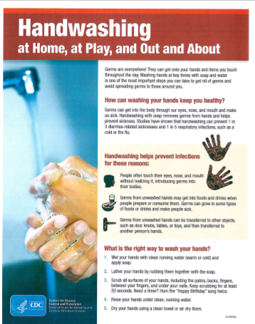 Stop the Spread of Germs Featured Photo