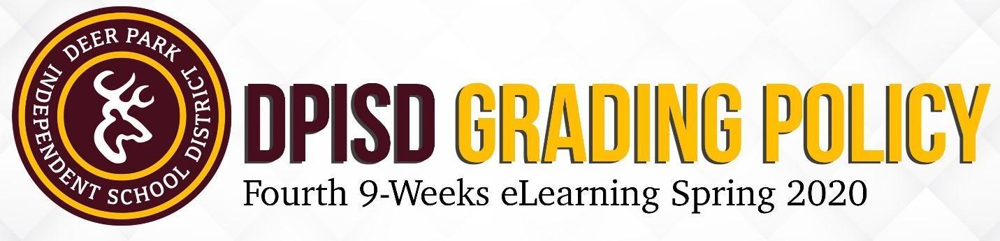 DPISD Grading Policy header