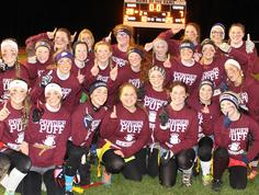 seniors take the cake in powder puff