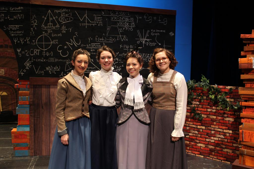 Blue Stockings production photo