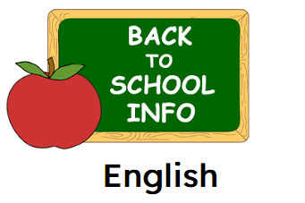 back to school info English