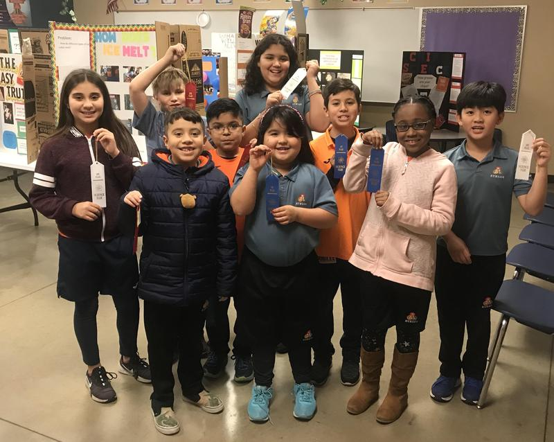 Campus Science Fair ~ Elementary Winners Featured Photo