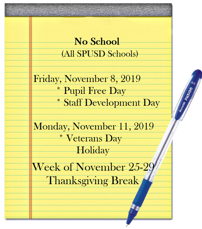No School Days in November Featured Photo