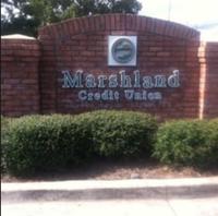 Photo of entrance ot Marshland Credit Union