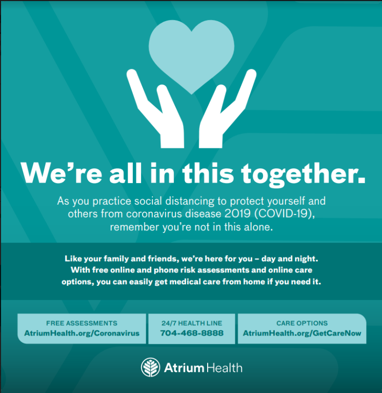 Notice from Atrium Health Featured Photo