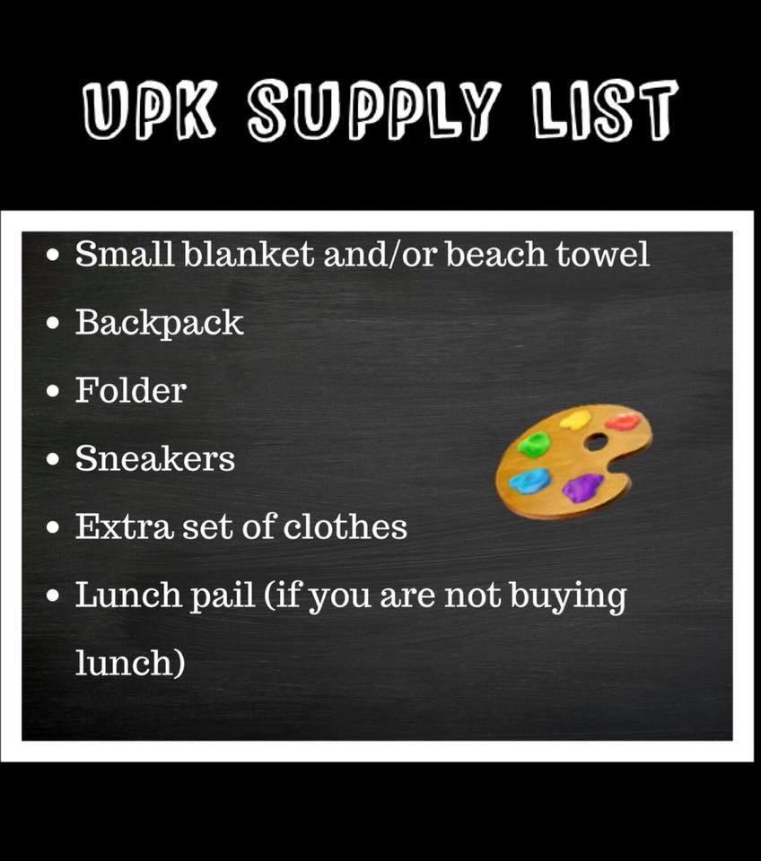 Supply List 7